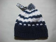 mb497 男 RIP CURL リップカール ボンボン付き ニット帽