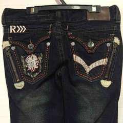 R デザインジーンズ