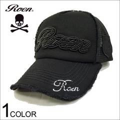 Roen(ロエン) Rラインストーンロゴメッシュキャップ F[RECP009]