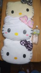 2)@キティ@キティちゃん大判フェイスクッション6個セットサンリオハローキティHello Kitty