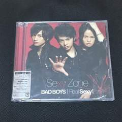 BAD BOYS/Real Sexy! 初回限定盤B CD+DVD Sexy Zone 帯付き