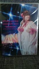 宇徳敬子/DVD CONCERT 2011 WOMAN AT 日本橋 三井ホール 未開封