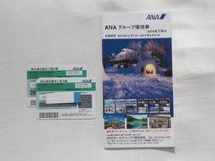 ANA☆全日航株主優待券☆ 2枚(2017年11月末まで搭乗分有効)