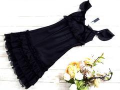 新品 メトリーゼ 定価¥22000 パーティ ドレス 黒