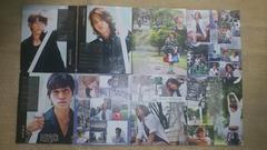 2011年10月号 NEWS 切り抜き8枚