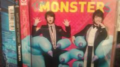 激安!超レア!☆山下智久.香取慎吾/MONSTERS☆初回盤B/CD+DVD/美品!