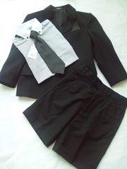 新品&美品*男の子お洒落なスーツ6点セット《120cm》