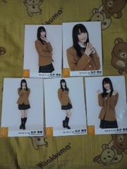 送込松井玲奈2011.04メンバー個別生写真5枚コンプ