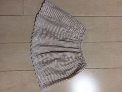 Lagom☆透かしの花刺繍が素敵なスカート