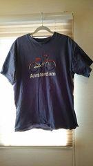 オランダ空港購入☆アムステルダムTシャツ☆Mサイズ☆