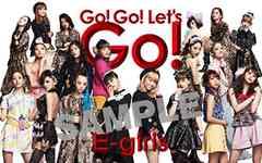 E-girls『 Go! Go! Let's Go! 』★ICカードステッカー★限定特典