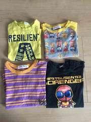 Tシャツ4枚セット 90