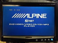 �A���p�C���@ALPINE TVE-T850 8�C���`AV���j�^�[