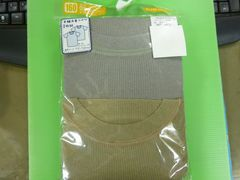 新品未使用 半袖丸首シャツ 2枚組 160