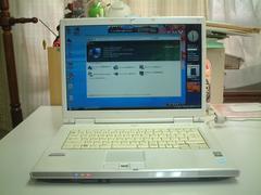 すぐ使える Vista 15.4ワイド 無線 FMV-NF40U Office2007入