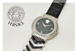 VERSACE ヴェルサーチ 642 クオーツ メンズ腕時計