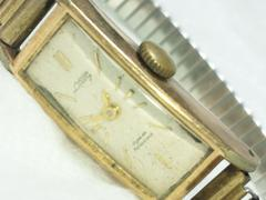 2542復活祭★100年前位☆ブレスレット型レディース腕時計アンティーク14KGF