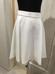 スコットクラブ★新品タグ付白スカート