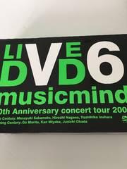 V6☆LIVE DVD musicmind4枚組
