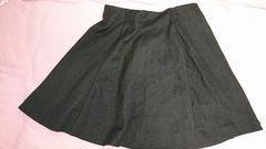 即決☆Sサイズユニクロ黒のフレアスカート