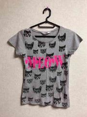 H&M☆猫柄Tシャツ