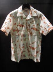 M オリジナル パターン ショート スリーブ シャツ サイズS