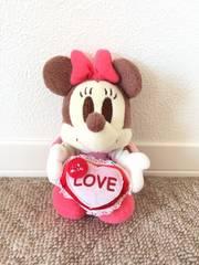 ディズニー ミニーマウス ライトアップぬいぐるみ LOVE 18cm