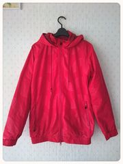 mad hectic★レッド赤色のパーカージャケット★Mサイズ