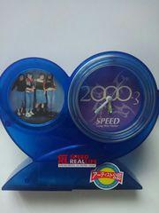 SPEED スピード オルゴール付置き時計 アーティスト公認