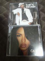 R&B2枚セット!!chris brown,cassie 国内盤〓クリスブラウン