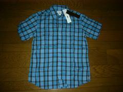 新品uniform experiment製品加工チェックシャツ青1SOPHNET.ソフ