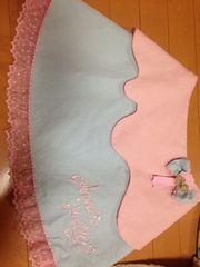 美品☆AngelicPretty☆Sweetワッフルスカート☆サックス×ピンク
