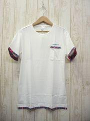即決☆アディダス レイヤード半袖 Tシャツ WHT/XXL 3L 新品 送料164円