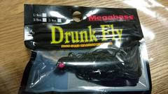 メガバス!ドランクフライ1/2オンス!オールブラック