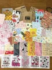 紙&レジ袋&手提げ紙袋、他計700枚セット(A.Bタイプ混み)
