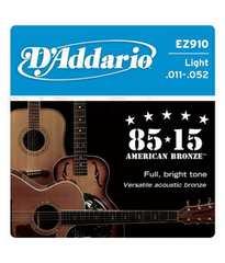 D'Addario EZ910 Light アコースティックギター弦