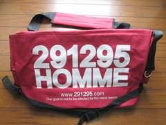 291295=HOMME ショルダーバッグ