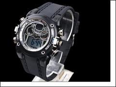 ★【新品】OHSEN多機能腕時計/Gショックスントカレンダー付