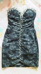 新品!anデニムミニドレス Sサイズ ブランドキャバドレス