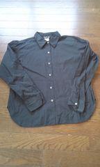 【アニエスベー】           ブラック長袖シャツ★サイズ3