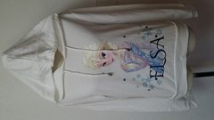 新品 タグ付き アナと雪の女王 トレーナー 白