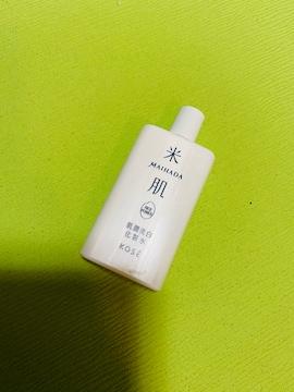 モバオクで買える「新品未使用KOSE化粧水」の画像です。価格は120円になります。