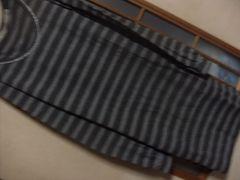 アズノウアズ*ボーダーカットソーワンピース★クリックポスト164円