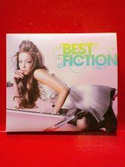 安室奈美恵『BEST FICTION』初回DVD付即決