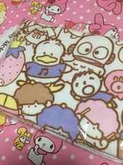 サンリオキャラミックス☆バスタオル♪福袋2017キティ、マイメロ