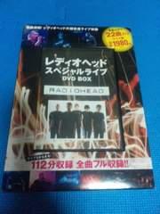 「レディオヘッド スペシャルライブ DVD BOX」RADIOHEAD LIVE