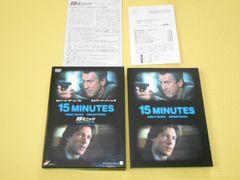 DVD★15ミニッツ COLLECTOR'S EDITION