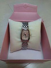ピンク文字盤腕時計◎Alessandra Olla