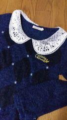 襟つきセーター〜size140