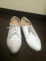 【DHOLIC】オックスフォード◆マニッシュシューズおじ靴23.5